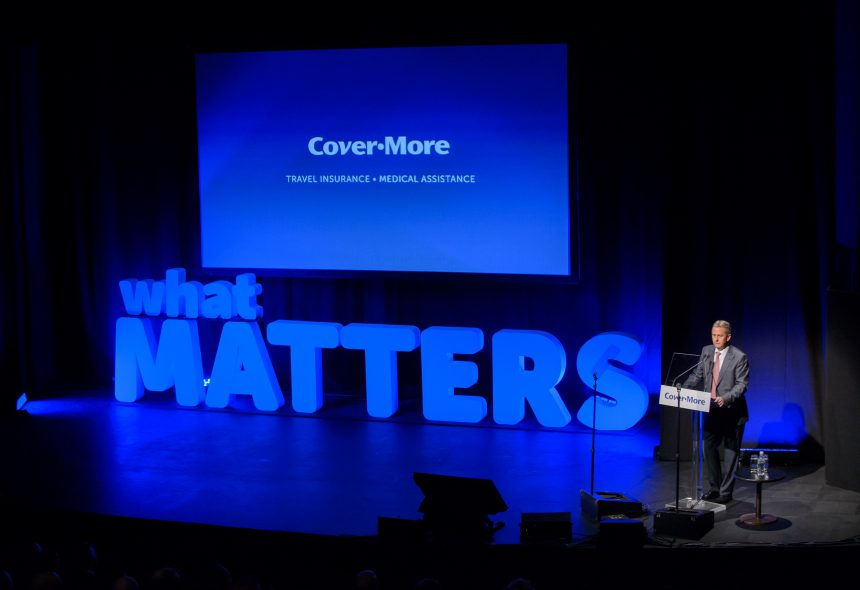 Podium Business Events for Covermore