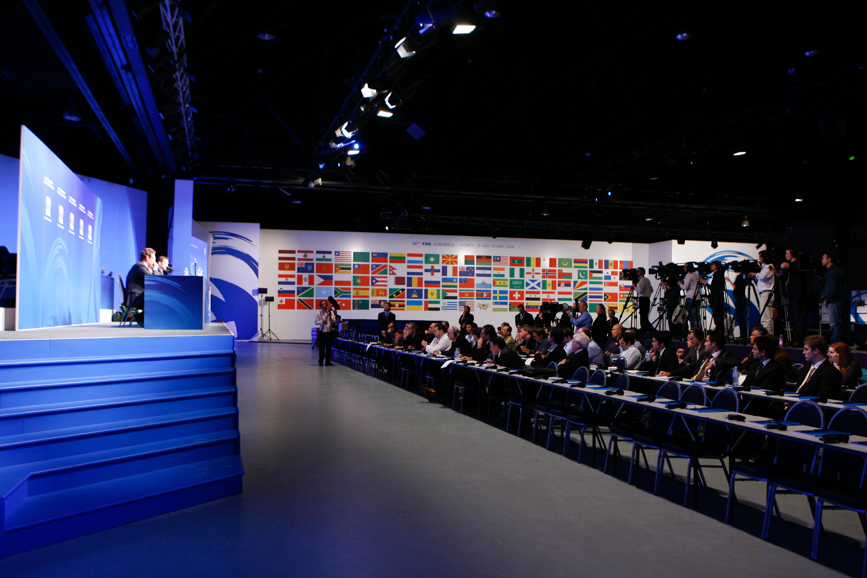 Podium Business Events for FIFA