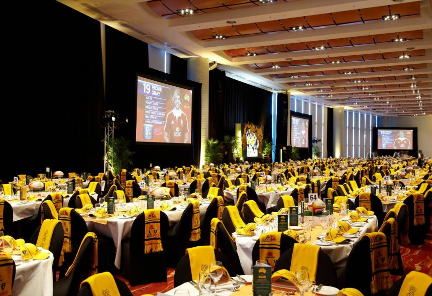 Podium Business Events for the Australian Rugby Union