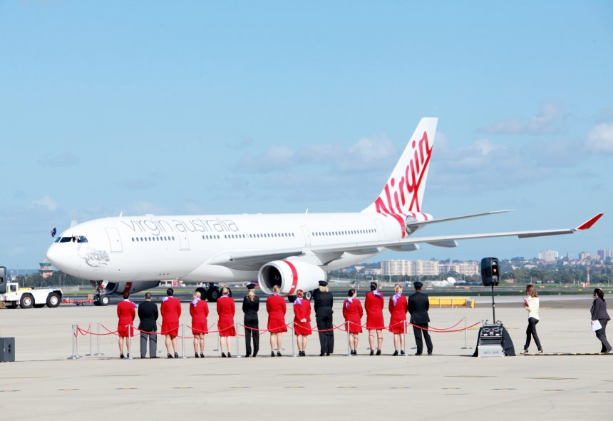 Podium Business Events for Virgin Australia